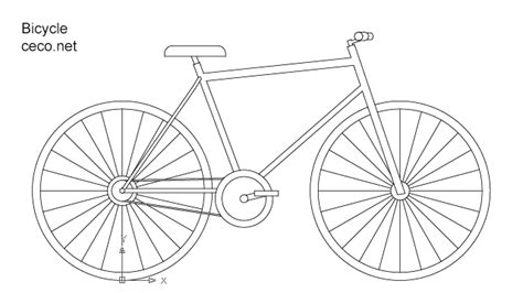 how to draw a boat on autocad autocad drawing bicycle dwg