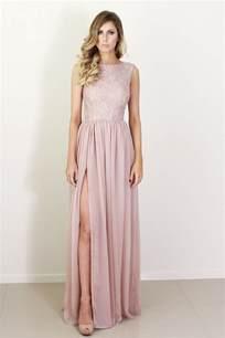 blush silk and lace bridesmaid dress onewed com