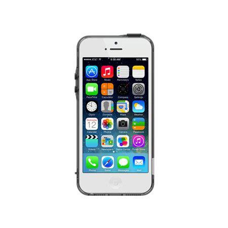 pinlo bladedge bumper case  iphone   transparent black