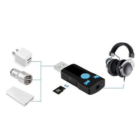 Usb Bluetooth Audio Receiver Audio 35mm Stereo Ttr 211 wholesale usb bluetooth audio receiver 3 5mm car aux
