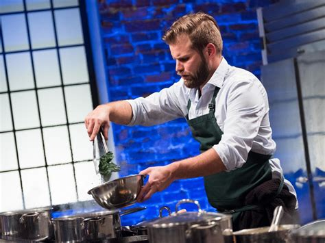 one on one with the food network finalist to