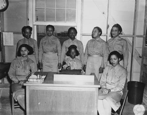 african americans in world war ii wacs african american wacs at c atterbury indiana women