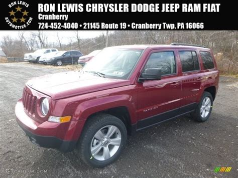 jeep patriot 2017 red 2017 deep cherry red crystal pearl jeep patriot latitude