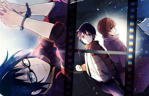 download film anime ufo baby boku dake ga inai machi erased zerochan anime image board