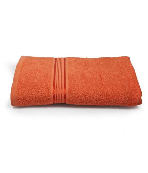 orange towels bathroom eurospa orange cotton bath towel buy eurospa orange