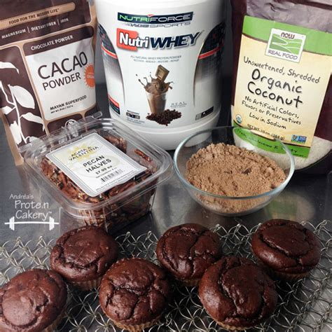 12 Ingredients And Directions Of German Chocolate Coconut Bars Receipt by German Chocolate Protein Cupcakes Andr 233 A S Protein Cakery