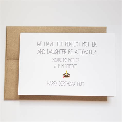 mom cards mom birthday card funny funny birthday cards for mom