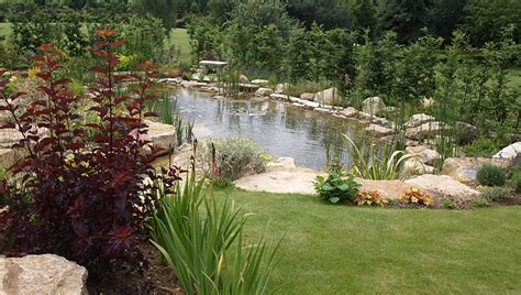 Landscaping Ideas Large Gardens Large Garden Pond Designs Interior Exterior Doors