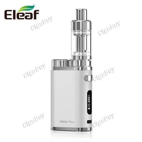 Rokok Electrik Eleaf Istick Pico Starter Kit 75w 31 93 authentic eleaf istick pico 4ml 75w starter kit silver cigabuy