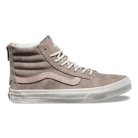 Zipper Vans croc emboss sk8 hi slim zip shop womens shoes at vans