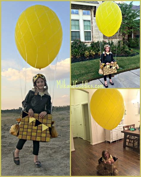 How To Make An Air Balloon Out Of Paper - air balloon costume out of a box everyday best