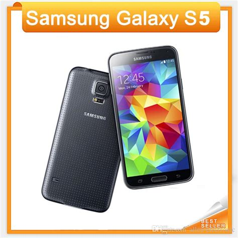 Anti Gravity Samsung Galaxy S5 With Original Packing original unlocked samsung galaxy s5 i9600 cell phones 5 1super amoled 16gb rom android