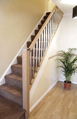 chrome banister the contemporary staircase handrail baserail and spindle
