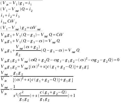 high pass filter equation derivation multi octave 4 channel tone synthesis with magnitude select