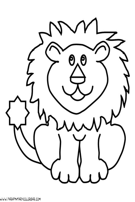 imagenes leones dibujos fotos de leones en dibujo imagui