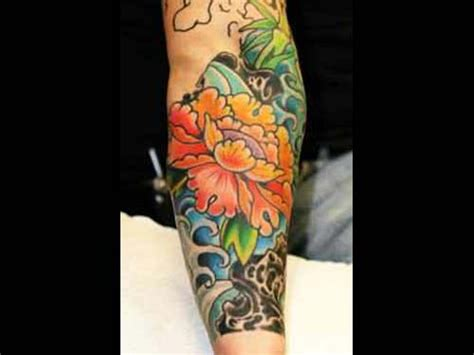 tattoo japanese flower designs japanese flower tattoo jae connor www
