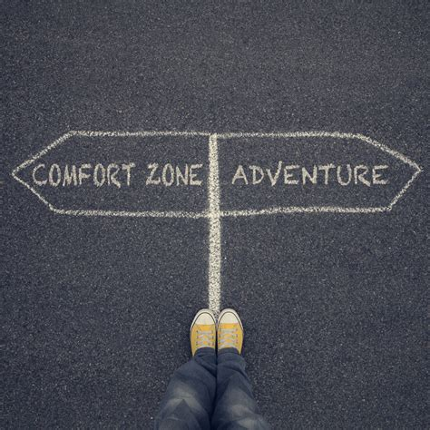 Comfort Zone And Courage Zone by Scribbler S Folly
