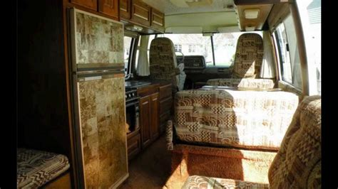 Gmc Motorhome Floor Plans by 1978 Gmc Royale 26 Motorhome Interior Youtube