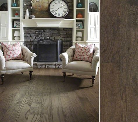 hgtv home flooring by shaw hardwood in a rustic reclaimed