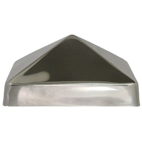 Cap Stainless by Protectyte 6 In X 6 In Stainless Steel Pyramid Slip