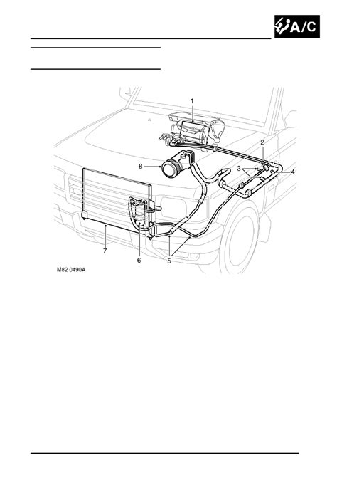 land rover workshop manuals discovery ii air conditioning description  operation ac