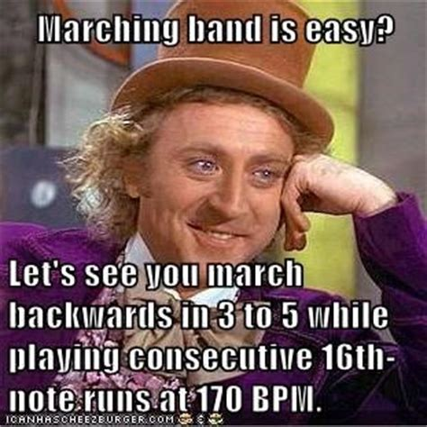 Band Geek Meme - band geek memes marching band is easy let s see you