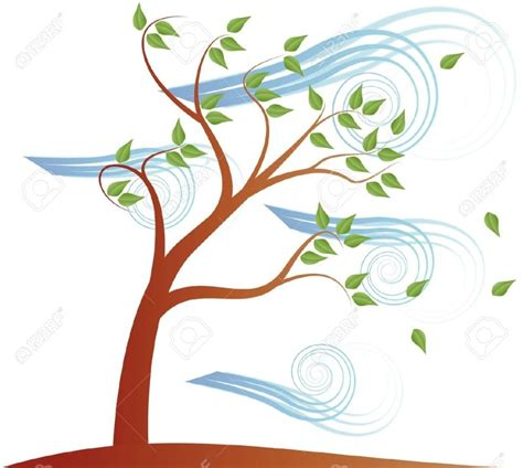 Clipart Wind windy tree clipart clipartsgram