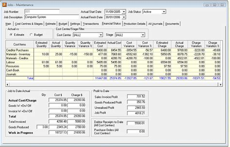 job costing excel template gallery