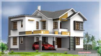 2400 sq feet double floor indian house plan kerala home