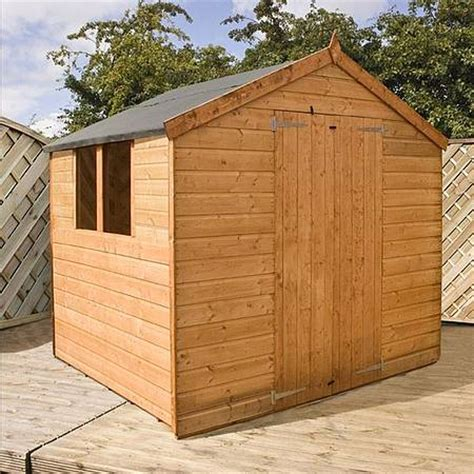 tongue groove apex wooden garden shed waltons sheds