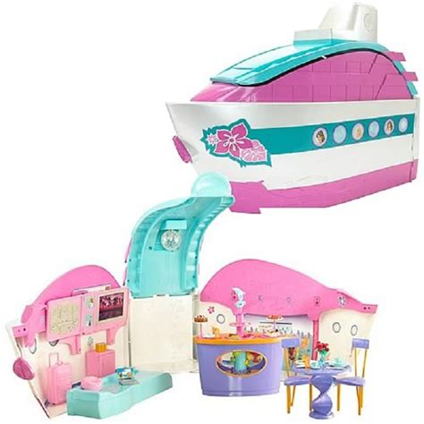 barbie boat ebay barbie boat party cruise ship rare collectable free