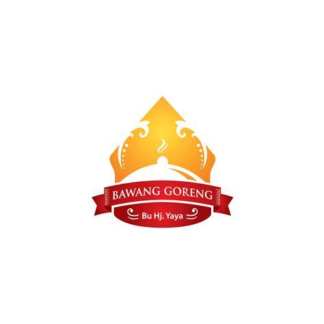 bawang goreng hj tika galeri desain logo untuk produk makanan