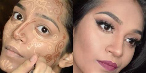 Contour Makeup 9 different makeup contouring techniques
