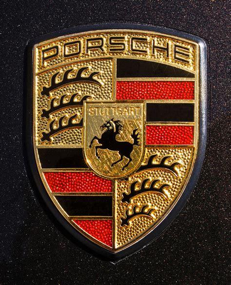 porsche usa emblem porsche emblem photograph