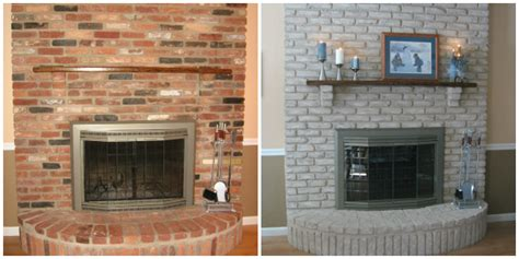 paint brick fireplace before after painted brick homes before and after quotes