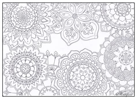 town coloring book stress relieving coloring pages coloring book for relaxation volume 4 books stress relief mandala flowers get more of hattifant s