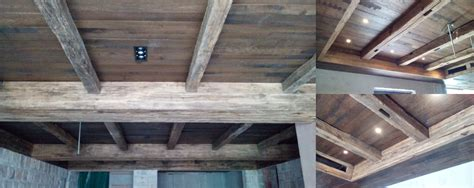 reclaimed wood ceiling reclaimed oak beams wall sections planks and siding