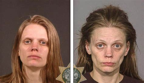 Medicine Detox Meth by The Faces Of Addicts Before And After They Started Using