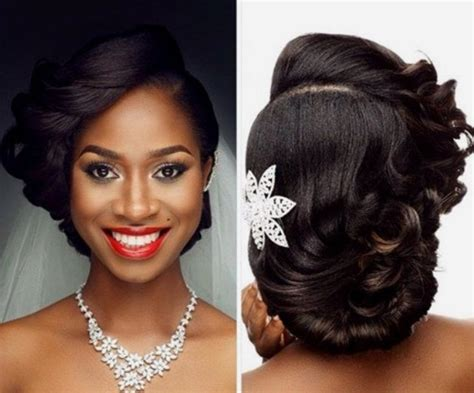 Wedding Hairstyles For Black Flower by 20 Gorgeous Black Wedding Hairstyles