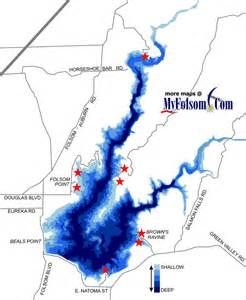 folsom lake topography map myfolsom