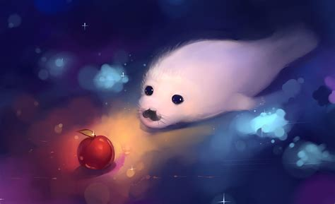 wallpaper anime animals baby seal wallpapers wallpaper cave