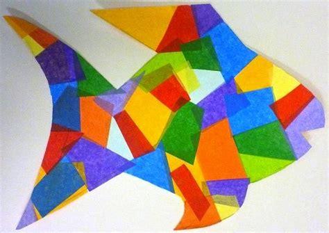Tissue Paper Fish Craft - tissue paper fish search sunday school craft