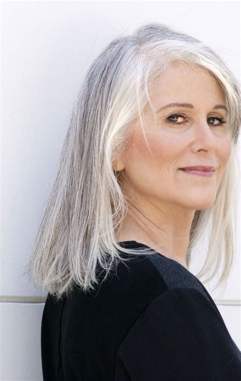 women in forties and grey hair grey hair equals fabulous blog look fabulous forever