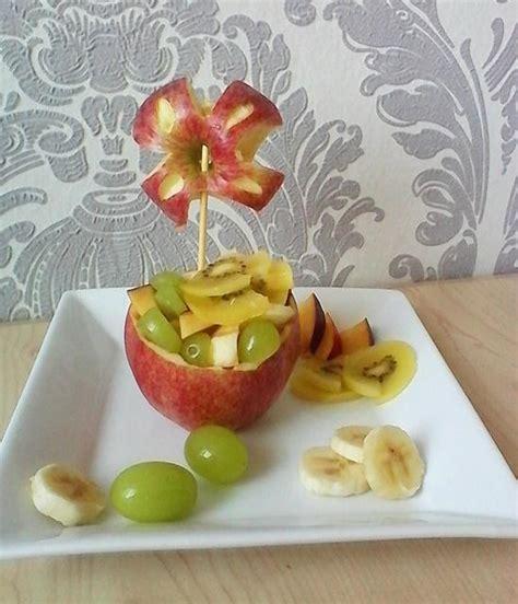 Rezept Obst Im Apfel Anrichten Frag Mutti