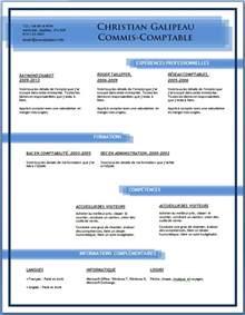 exle resume modele cv telecharger gratuitement