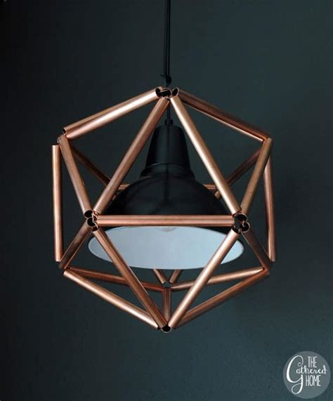 Diy Pipe Light Fixture 10 Best Diy Industrial Pipe Projects House Of Hawthornes