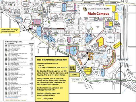 cu boulder map cu parking map my