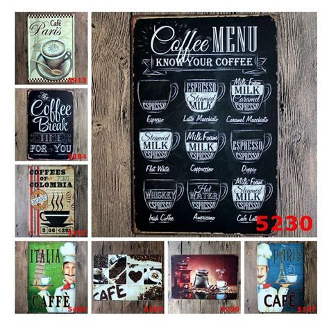 new retro vw car chic home bar vintage metal signs home new drink menu chic home bar vintage metal signs home
