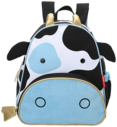 Skip Hop Zoo Bowl Cow skip hop zoo pack kid and toddler backpack cheddar