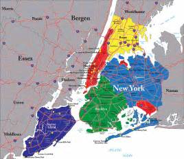 Map Of New York City Boroughs by Long Island City Real Estate Market
